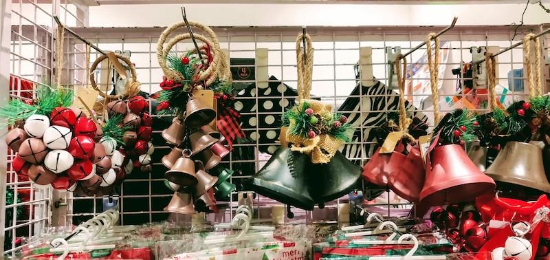Christmas decorations at Itsy Bitsy in Phoenix Market City Mall, Bangalore