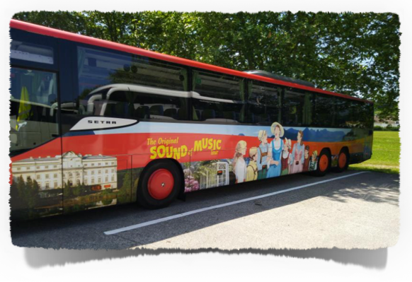 The Sound of Music Tour takes the visitor to almost all locations where the movie was filmed.