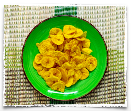 Banana chips from Kerala