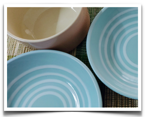 Crockery from Ellementry showroom at Indiranagar, Bangalore