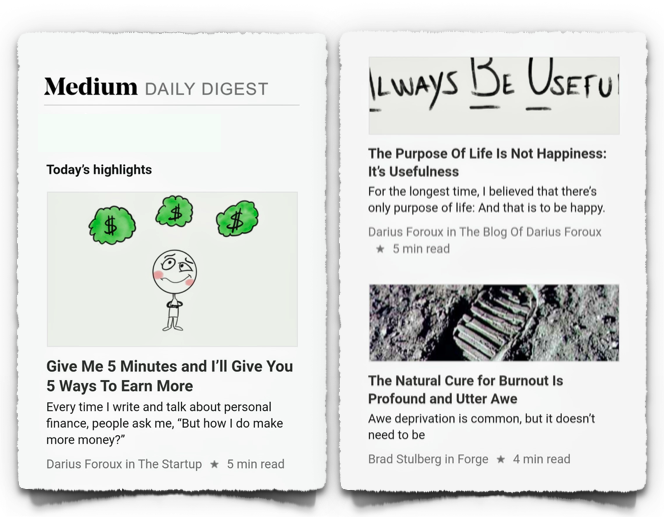 Medium online magazine