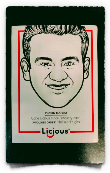 Licious packaging is awesome