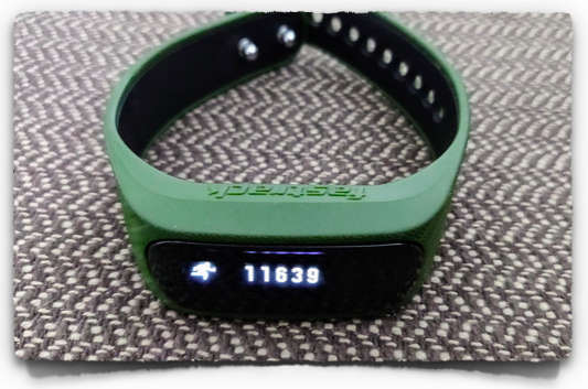 A basic smart watch from Fastrack by Titan