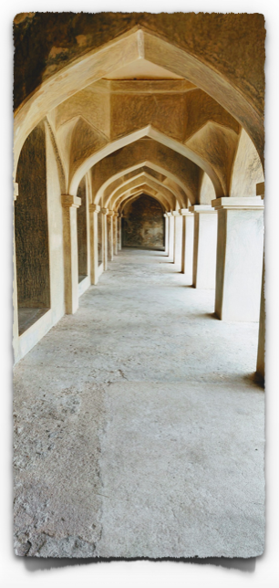 Beautiful arches at Kalyana Mahal