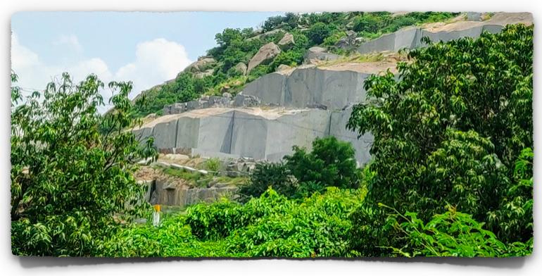 Granite quarry?