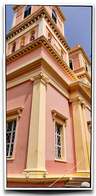 Eglise de Notre Dame des Anges in Pondicherry