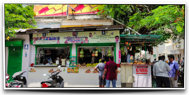 Juice stall