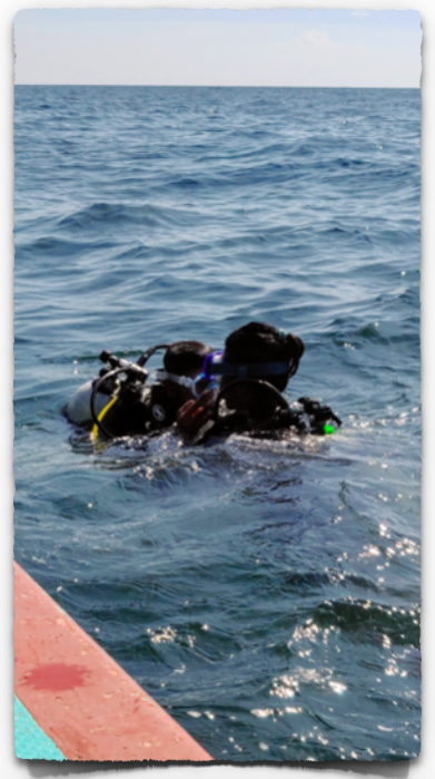 One to one scuba diving session in Pondicherry
