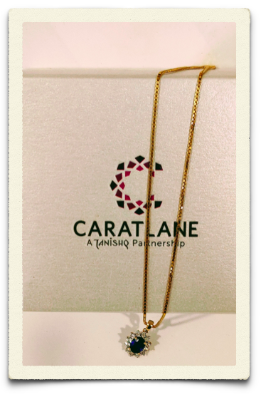 One of the picks from Caratlane showroom on 100 ft road at Indiranagar, Bangalore