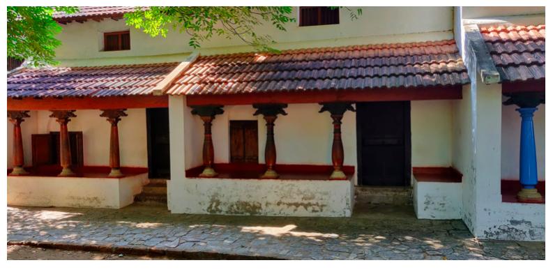 Agraharam Brahmin House from Tamil Nadu