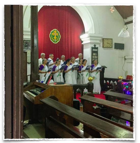 Senior citizen's choir in Kerala