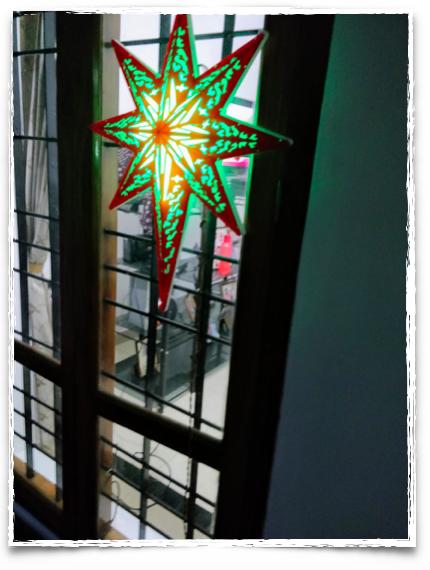LED stars in Kerala