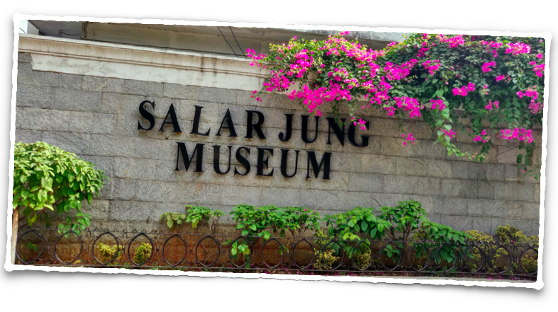 Salar Jung Museum at Hyderabad