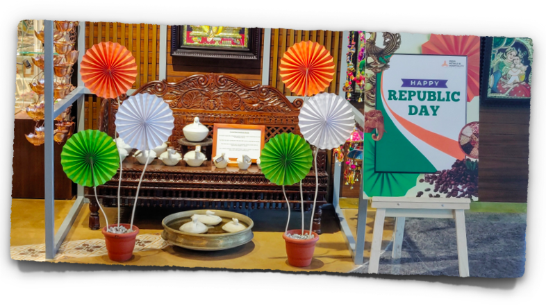 Display on the occasion of Republic Day