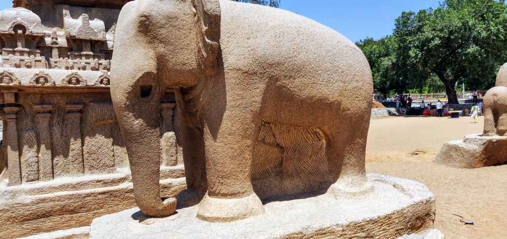 The white elephant or Airavata is the mount of Lord Indra