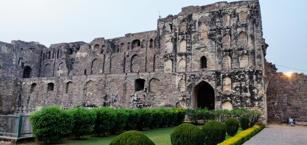 Ruins of the Golconda Fort, Hyderabad