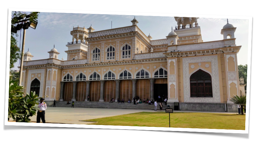 Khilwat Mubarak at the Chowmohalla Palace in Hyderabad