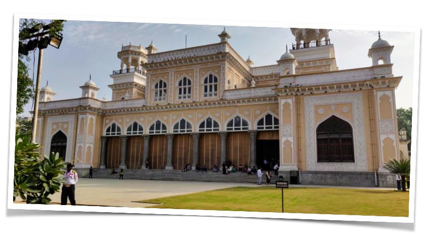 Khilwat Mubarak at the Chowmohalla Palace in Hyderabad