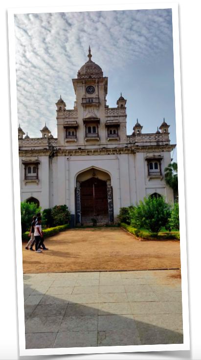 Clock Gate at the Chowmohalla Palace, Hyderabad