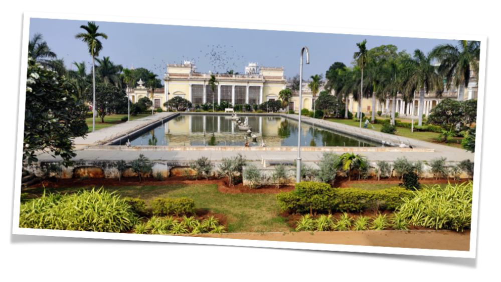 Tahniyat Mahal at Chowmohalla Palace