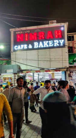 Nimrah Cafe near Charminar, Hyderabad