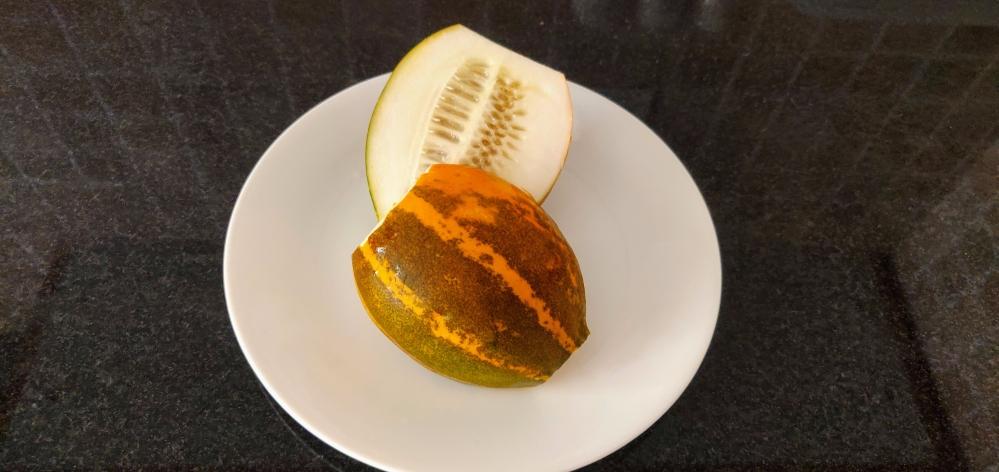 Yellow cucumber (sambar vellarikka)