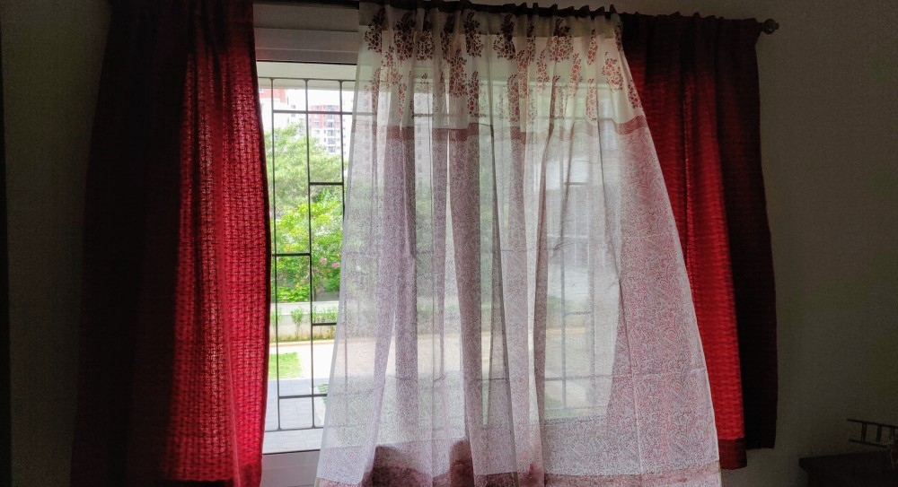 Curtains from Fabindia