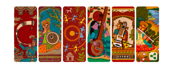 Google's announced this auspicious day with a colourful doodle